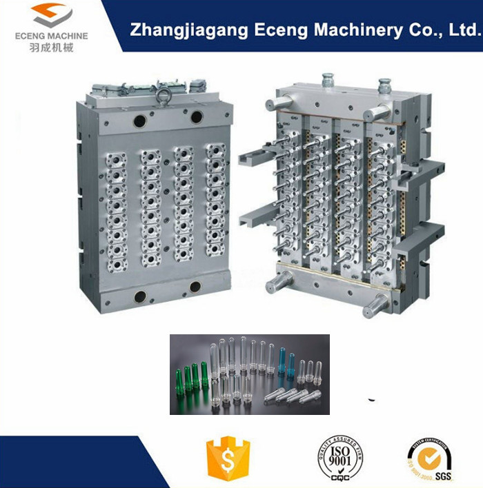 Hot Runner Injection Pet Preform Mould For Pet Stretch Blow Moulding Machine