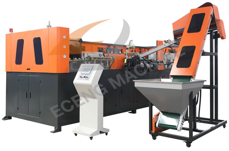 Fully Automatic Pet Stretch Blow Molding Machine For Popular , 50kw Power